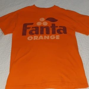 FANTA ORANGE Coca-Cola ADV. T-Shirt size Small